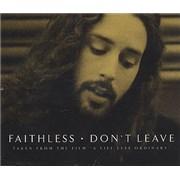 Faithless Don't Leave UK CD single