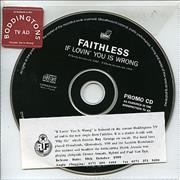 Click here for more info about 'Faithless - If Lovin' You Is Wrong - Boddington's TV Ad'