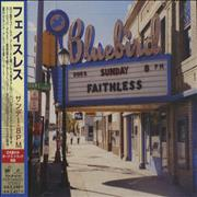 Faithless Sunday 8PM Japan CD album Promo