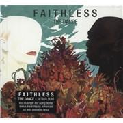 Faithless The Dance - Hardback - Sealed UK CD album