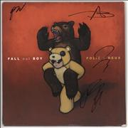 Click here for more info about 'Fall Out Boy - Folie A Deux - Coloured Vinyl - Autographed'