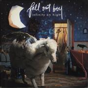 Click here for more info about 'Infinity On High - Blue & Clear Splattered Vinyl'