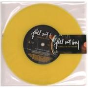 "Fall Out Boy Thnks Fr Th Mmrs UK 7"" vinyl"