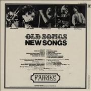 Click here for more info about 'Family - Old Songs New Songs - EX'