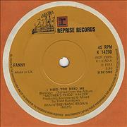 Click here for more info about 'Fanny (70s) - I Need You Need Me'