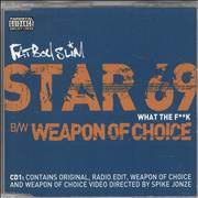 Click here for more info about 'Fatboy Slim - Star 69 (What The F**k)'
