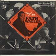 Click here for more info about 'Fats Waller - '34/'35 Fats Waller'