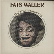 Click here for more info about 'Fats Waller - A Legendary Performer'