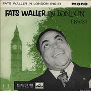 Click here for more info about 'Fats Waller In London (No 3) EP'