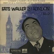 Click here for more info about 'Fats Waller - Fats Waller In London (No.2) EP - Test Pressing'
