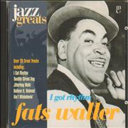 Click here for more info about 'Fats Waller - I Got Rhythm'
