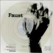 Click here for more info about 'Faust - Faust - Clear Vinyl - EX'