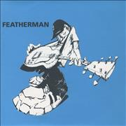 "Featherman Good Friend - Orange vinyl UK 7"" vinyl"