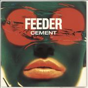 Click here for more info about 'Feeder - Cement - Red Vinyl'