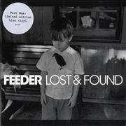 Click here for more info about 'Feeder - Lost & Found - 1/2 - Blue Vinyl'