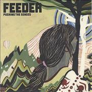 Click here for more info about 'Feeder - Pushing The Senses - White Vinyl'