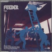 Click here for more info about 'Feeder - Turn - CD2 - Autographed'