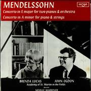 Click here for more info about 'John Ogdon & Brenda Lucas - Mendelssohn: Concerto in E major & Concerto in A minor'