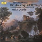 Click here for more info about 'Melos Quartett - Mendelssohn: Die Streichquartette'