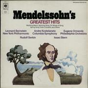 Click here for more info about 'Felix Mendelssohn - Mendelssohn's Greatest Hits'