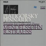 Click here for more info about 'Felix Mendelssohn - Sonatas For Cello and Piano, Mendelssohn No.2 Op.58, R. Strauss Op.6'