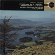 Click here for more info about 'Felix Mendelssohn - Symphony No. 3 'Scottish' / Symphony No. 4 'Italian''