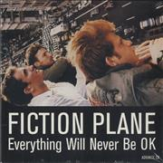 Click here for more info about 'Fiction Plane - Everything Will Never Be OK'