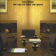 Click here for more info about 'Field Music - She Can Do What She Wants / Sit Tight'