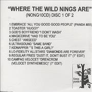 Click here for more info about 'Fierce Panda - Where The Wild Nings Are - 2 discs'