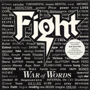 Click here for more info about 'Fight - War Of Words - White Vinyl'