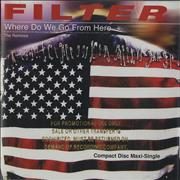 Click here for more info about 'Filter - Where Do We Go From Here - gold promo stamped'