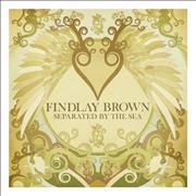 Findlay Brown Separated By The Sea UK vinyl LP