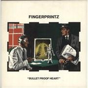 Click here for more info about 'Fingerprintz - Bullet Proof Heart'