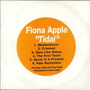 Click here for more info about 'Fiona Apple - Tidal Sampler'