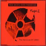 Click here for more info about 'Fischer-Z - Red Skies Over Paradise - Shaped CD'