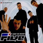 Click here for more info about 'Five - Keep On Movin''