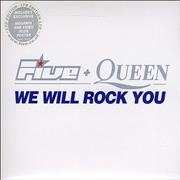 Click here for more info about 'Five - We Will Rock You [with Queen] - 2 CD set'