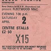Click here for more info about 'Fleetwood Mac - 1977 Concert Ticket'
