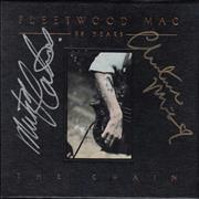 Click here for more info about 'Fleetwood Mac - 25 Years The Chain - Autographed'