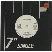 """Fleetwood Mac Big Love - solid UK 7"""" vinyl"""