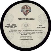 """Fleetwood Mac Big Love USA 12"""" vinyl Promo"""