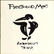 Click here for more info about 'Fleetwood Mac - European Tour + Ticket Stub'
