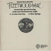 "Fleetwood Mac Go Your Own Way USA 12"" vinyl Promo"