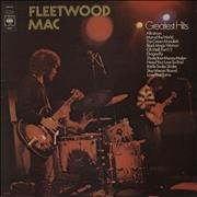 Click here for more info about 'Fleetwood Mac - Greatest Hits - graduated orange label'