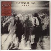 Fleetwood Mac Live - stickered p/s UK 2-LP vinyl set