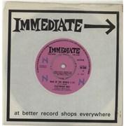 "Fleetwood Mac Man Of The World - WOL UK 7"" vinyl"
