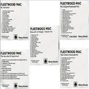 Click here for more info about 'Fleetwood Mac - Set of Five 2004 Remastered Reissued CD-R Albums'