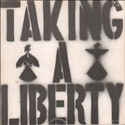 Click here for more info about 'Flux Of Pink Indians - Taking A Liberty'