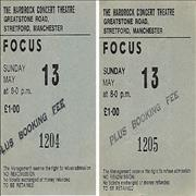 Click here for more info about 'Focus - The Hardrock Concert Theatre, Manchester'