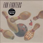 Click here for more info about 'Foo Fighters - Big Me - White Vinyl - Hype Stickered'